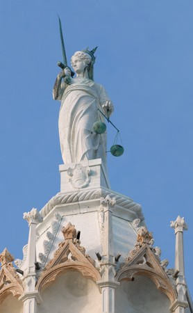 lady justice: Lady justice status Stock Photo