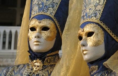 enact: Venice Carnival masks Stock Photo