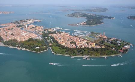 Venice: aerial view photo