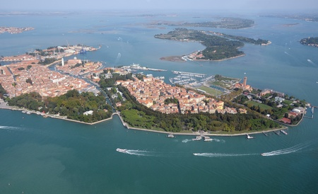Venice: aerial view photo