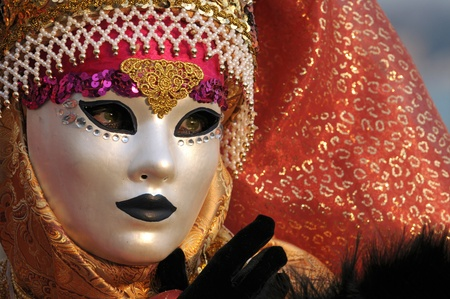 Venice carnival mask photo