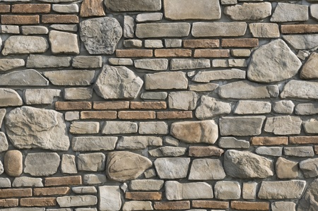 solidity: Stone and brick wall