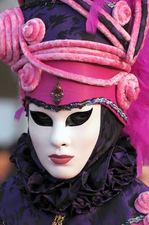 carnaval venise: Venise masque de carnaval, personne m�connaissable Banque d'images
