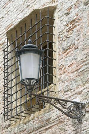 streetlight: Streetlight and grille