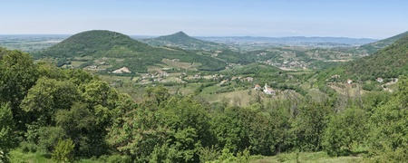 veneto: Euganean hills panorama, Veneto region, Italy