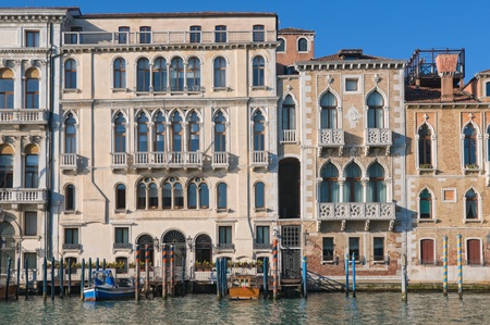 nobleness: Old palaces along Canal Grande in Venice