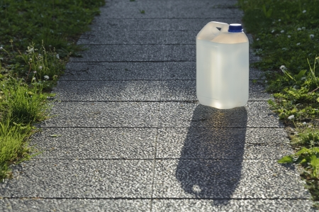 canister: Plastic potable water canister