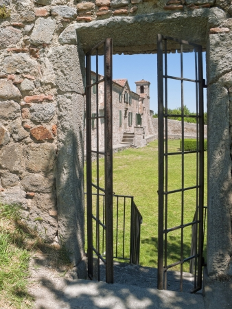 ajar: Ancient monastery  Stock Photo