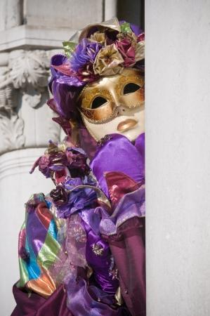 enact: Venice mask Stock Photo