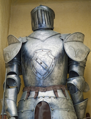 Old medieval armour  photo