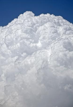 cumulus cloud: Cumulus clouds Stock Photo