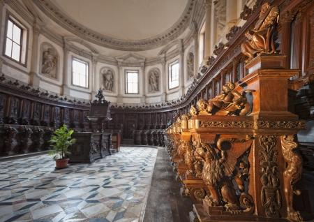 chiseled: Venice  Saint George church choir