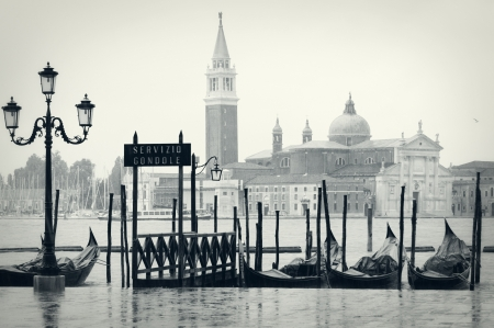 Rainy day in Venice photo