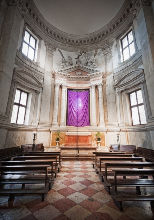 Venice, Italy  Chapel in San Giorgio Maggiore church Stock Photo - 17175789
