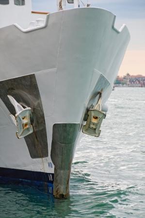 prow: Ship prow detail