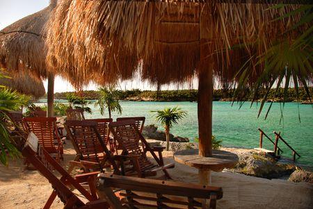 Beach Paradise Stock Photo