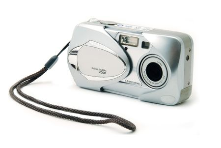 Isolated Point-n-Shoot Digital Camera
