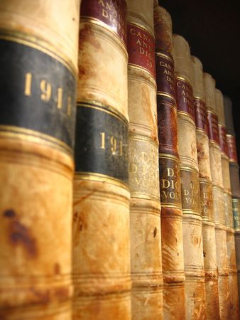 Perspective of Antique Canadian Law Books