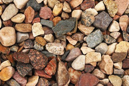 Rock Gravel Background Stock Photo