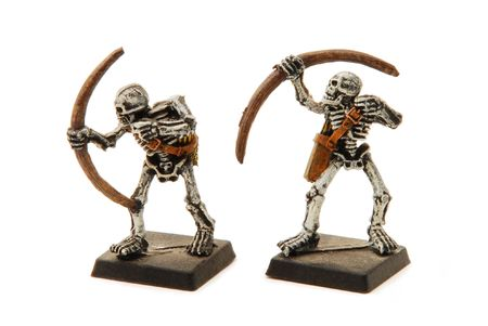 dungeons: Isolated Skeleton Miniatures
