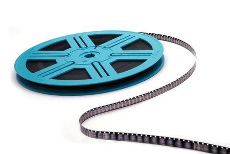 Blue Film Reel S-Curve
