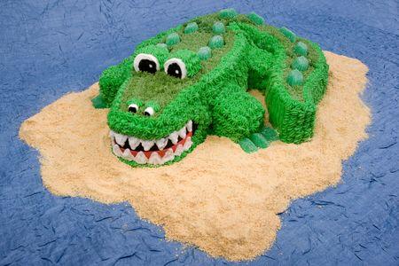 Fun Crocodile Cake