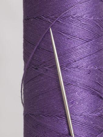 bobbin: Needle in violet bobbin