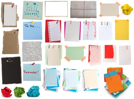 colorful notes collection Zdjęcie Seryjne