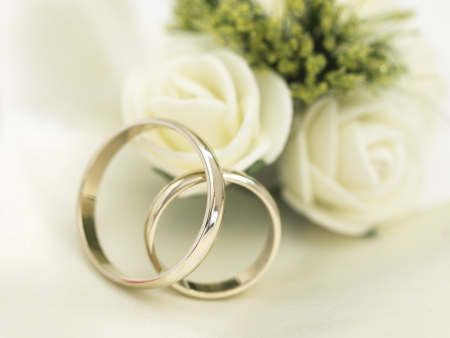 engagements: wedding arrangement Stock Photo