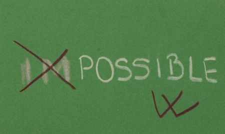 infeasible:  im possible concept