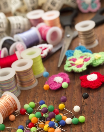 sewing items Stock Photo - 17938618