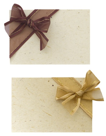 notes with bows photo