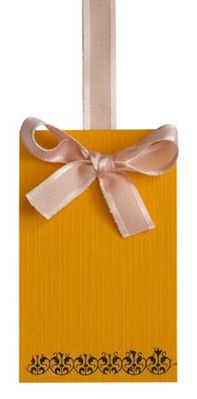 orange label photo