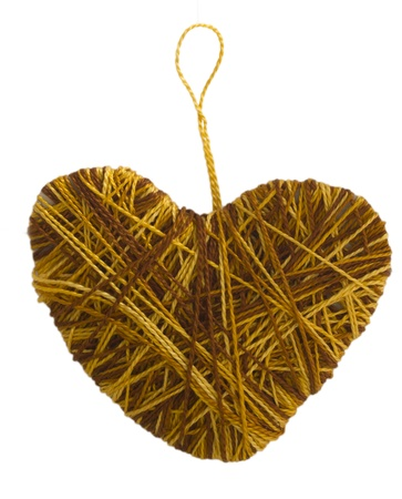 handmade textile heart photo