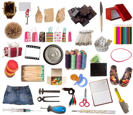 big collection of various objects Stock Photo - 18034909