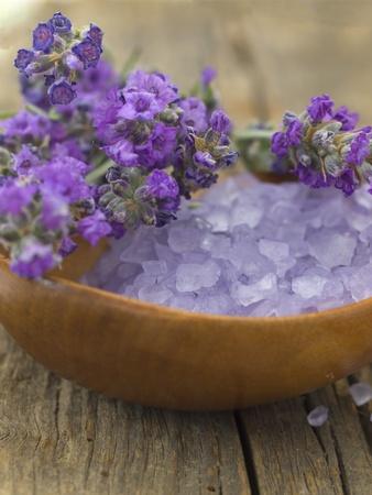 lavender cosmetics Stock Photo