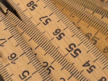 incremental: wooden ruler