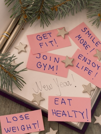 resolutions: New Year s resolution