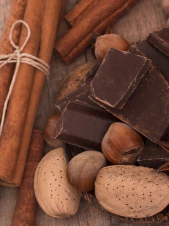 chocolate ingredients photo
