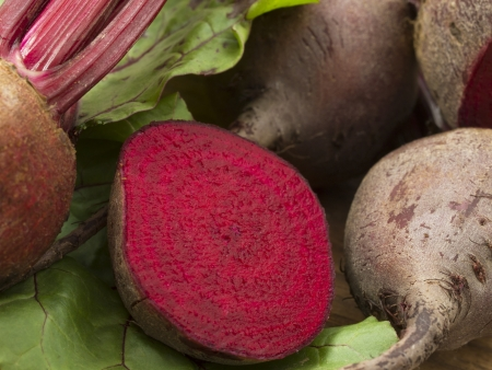 garden stuff: beetroot Stock Photo