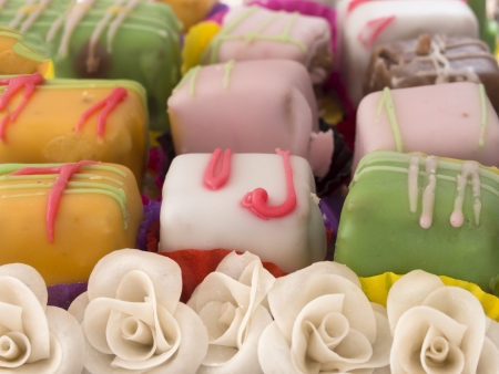 little colorful cakes photo