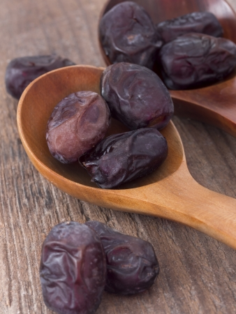 dry date fruits Stock Photo - 18217076