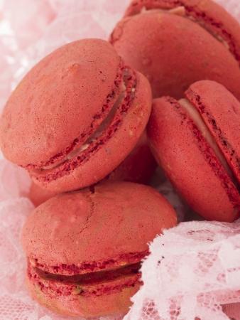 tasteful: tasteful red macaroons