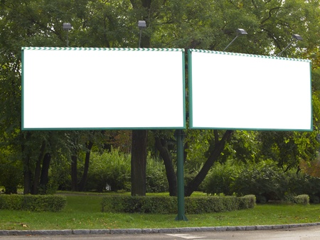blank billboard photo