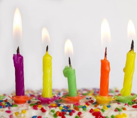 誕生日の蝋燭 写真素材 - 18551499