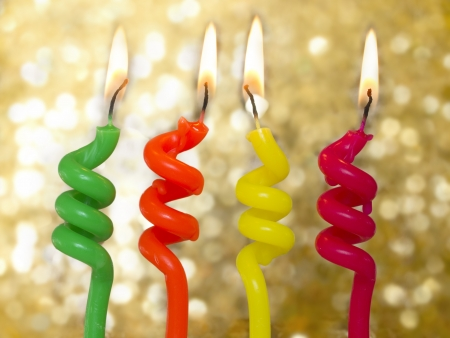 commemorate: birthday candles