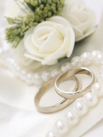 wedding rings 写真素材