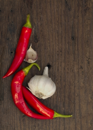 red hot chili peppers Stock Photo - 18601308