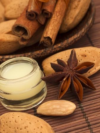 almond cosmetics photo