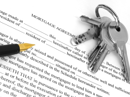 refinance: mortgage agreement